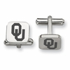 Oklahoma Sooners Stainless Steel Cufflinks