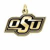 Oklahoma State Cowboys 14KT Gold Charm