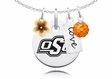 Oklahoma State Cowboys Cluster Necklace