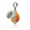 Oklahoma State Cowboys Football Dangle Charm
