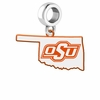 Oklahoma State Cowboys Logo Dangle Charm