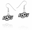 Oklahoma State Cowboys Logo Drop Earrings