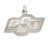 Oklahoma State Cowboys Natural Finish Charm