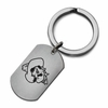 Oklahomo State Cowboys Stainless Steel Key Ring
