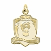 Old Dominion Monarchs 14K Yellow Gold Natural Finish Cut Out Logo Charm
