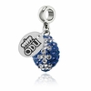 Old Dominion Monarchs Football Dangle Charm
