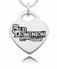 Old Dominion Monarchs Heart Charm