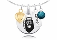 Old Dominion Monarchs Necklace With Heart, Color and Love