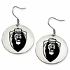 Old Dominion Monarchs Satin Finished Disc Earrings