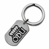 Old Dominion Monarchs Stainless Steel Key Ring