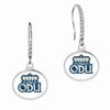 Old Dominion Monarchs Sterling Silver and CZ Drop Earrings