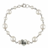 Old Dominion Sterling Silver Tin Cup Heart Bracelet
