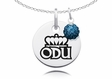 Old Dominion Necklace with Crystal Ball Accent