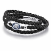 Old Dominion ODU Leather Wrap Bracelet