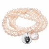 Old Dominion Pearl Coin Bracelet
