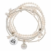 Old Dominion Pearl Wrap Bracelet