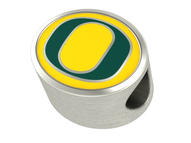 Wholesale University Of Oregon Ducks Jewelry Beads And Charms Fit