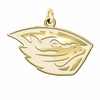 Oregon State Beavers 14K Yellow Gold Natural Finish Cut Out Logo Charm