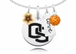 Oregon State Beavers Cluster Necklace