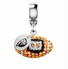 Oregon State Beavers Crystal Drop Charm