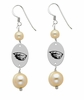 Oregon State Beavers Dangle Pearl Earrings