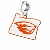 Oregon State Beavers Logo Dangle Charm