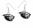 Oregon State Beavers Logo Drop Earrings