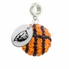 Oregon State Crystal Drop Charm