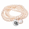 Oregon State Pearl Coin Bracelet
