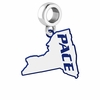 Pace Setter Logo Dangle Charm