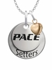 Pace Setter with Heart Accent