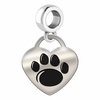 Penn State Engraved Heart Dangle Charm