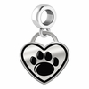 Penn State Nittany Lions Border Heart Dangle Charm