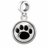 Penn State Nittany Lions Border Round Dangle Charm