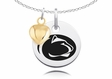 Penn State Nittany Lions Charm With Heart