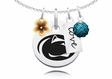 Penn State Nittany Lions Cluster Necklace