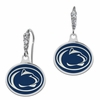 Penn State Nittany Lions Enamel CZ Cluster Earrings