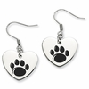 Penn State Nittany Lions Heart Earrings