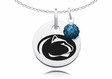 Penn State Nittany Lions Necklace with Crystal Ball Accent