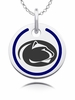 Penn State Nittany Lions Round Enamel Charm