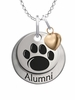Pennsylvania State Nittany Lions Alumni Necklace with Heart Accent