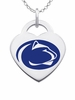 Pennsylvania State Nittany Lions Color Logo Heart Charm