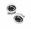 Pennsylvania State Nittany Lions Cufflinks Stainless Steel Round Top