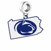 Pennsylvania State Nittany Lions Logo Dangle Charm