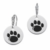 Pennsylvania State Nittany Lions Round CZ Cluster Earrings