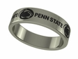 Pennsylvania State Nittany Lions Stainless Steel Ring