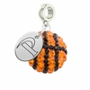 Pepperdine Waves Crystal Drop Charm