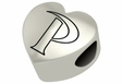 Pepperdine Waves Heart Shape Bead