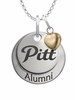 Pittsburg State Gorillas Alumni Necklace with Heart Accent
