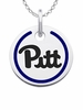 Pittsburgh Panthers Round Enamel Charm